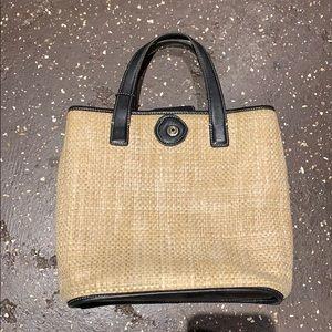 coach basket weave purse